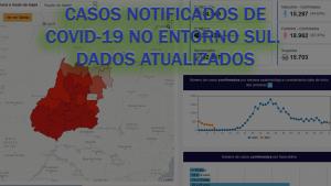 Read more about the article Casos notificados de COVID-19 no ENTORNO SUL