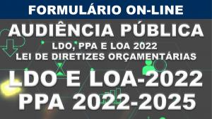 Secretaria da Planejamento lança formulário de sugestões para elaboração do planejamento orçamentário participativo.