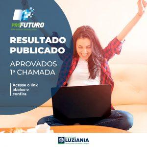 Read more about the article Lista dos aprovados da 1ª Chamada do pré-vestibular PRÓ-FUTURO