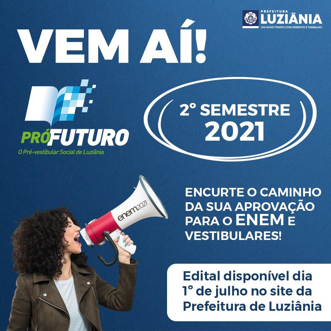 Read more about the article Processo Seletivo do 2° semestre do PRÉ-VESTIBULAR PRÓ-FUTURO
