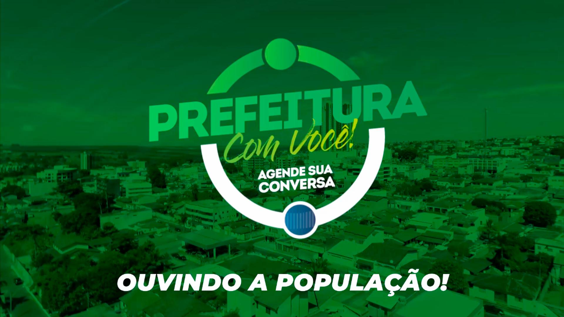 Read more about the article PREFEITURA COM VOCÊ!  UM NOVO CANAL DE COMUNICAÇÃO!